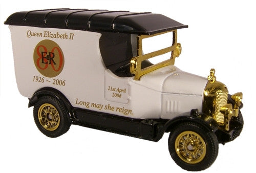 Oxford Diecast Queens 80th White