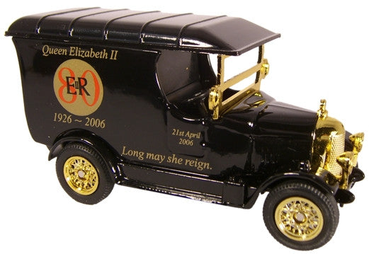 Oxford Diecast Queens 80th Black