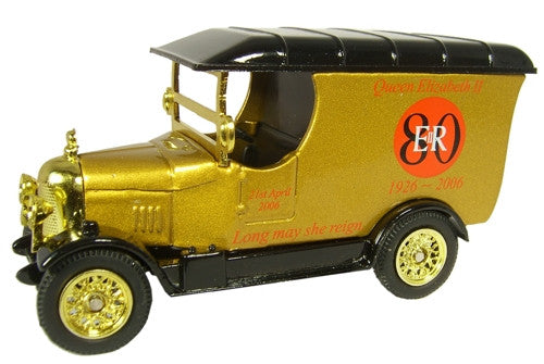 Oxford Diecast Queens 80th Gold