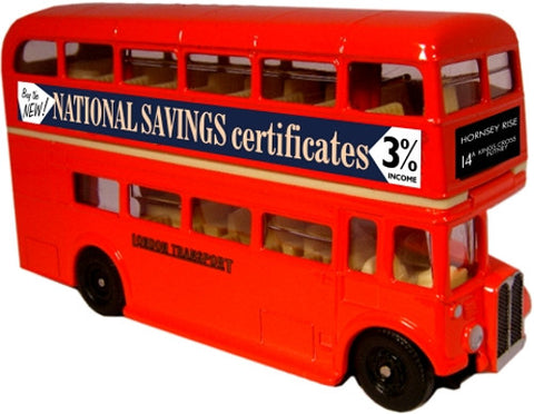 Oxford Diecast National Savings - 1:76 Scale