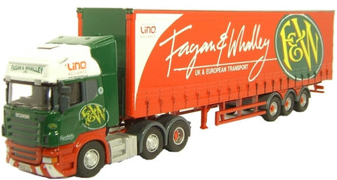 Oxford Diecast Fagan & Whalley Scania R420 - 1:76 Scale