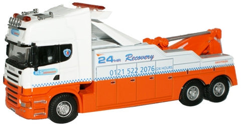 Oxford Diecast RS Recovery Scania R Series Topline Boniface - 1:76 Sca