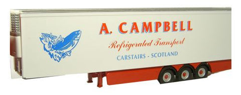 Oxford Diecast Campbell Trailer - 1:76 Scale