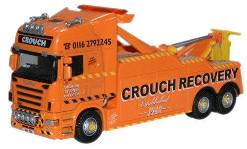 Oxford Diecast Crouch Recovery Scania Topline Recovery Truck - 1:76 Sc