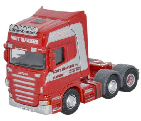Oxford Diecast Scott Trawlers Scania CAB - 1:76 Scale