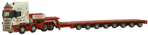 Oxford Diecast Donnell & Ellis Low Loader - 1:76 Scale