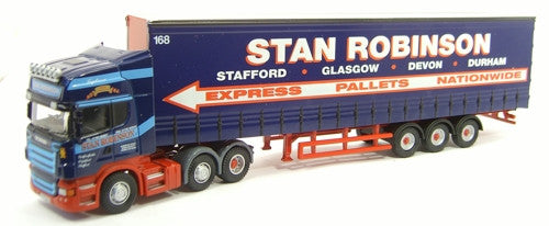 Oxford Diecast Stan Robinson  Scania - 1:76 Scale