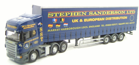 Oxford Diecast Stephen Sanderson  Scania - 1:76 Scale