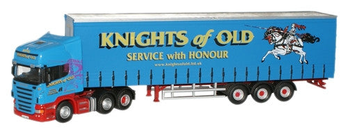 Oxford Diecast Knights of Old Scania - 1:76 Scale