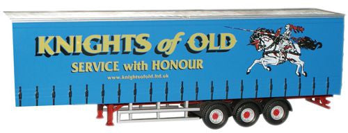Oxford Diecast Knights of Old Trailer - 1:76 Scale