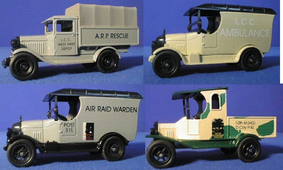 Oxford Diecast Homeguard Set