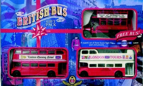 Oxford Diecast British Bus Set