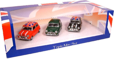 Oxford Diecast Triple Mini - 1:43 Scale