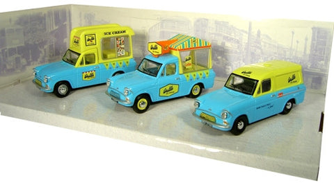 Oxford Diecast Triple Ice Cream Anglia - 1:43 Scale