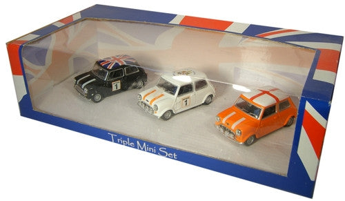 Oxford Diecast Luton Town Triple Mini - 1:43 Scale