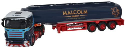 Oxford Diecast Scania R Series Tanker W H Malcolm - 1:76 Scale