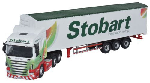 Oxford Diecast Scania Highline Walking Floor Eddie Stobart - 1:76 Scal
