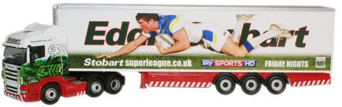 Oxford Diecast Stobart Super League Warrington Wolves - 1:76 Scale