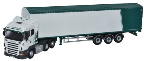Oxford Diecast Scania Highline Walking Floor A W Jenkinson - 1:76 Scal