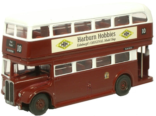 Oxford Diecast Edinburgh Bus - Harburn Hobbies - 1:76 Scale