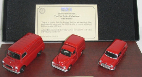 Oxford Diecast Malta Post Office Set - Triple - 1:43 Scale