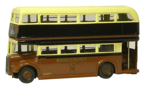 Oxford Diecast AEC Regent - Burwell & District - 1:76 Scale
