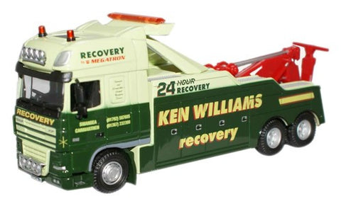 Oxford Diecast Ken Williams Recovery Truck - 1:76 Scale