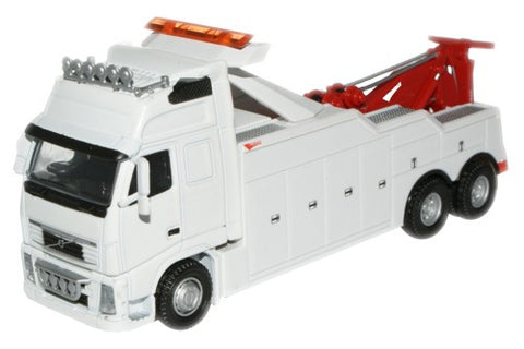 Oxford Diecast White (Boniface) Volvo Boniface Recovery - 1:76 Scale