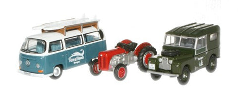 Oxford Diecast Branth Korrux Triple Set - 1:76 Scale