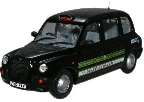 Oxford Diecast Childrens Magical Tour Taxi - 1:43 Scale