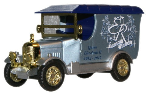 Oxford Diecast Queens Diamond Jubilee Bullnose Morris Large - Non Scal