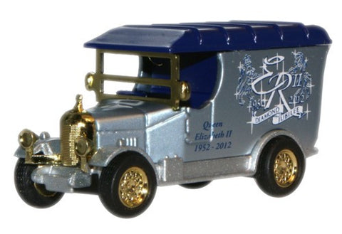 Oxford Diecast Queens Diamond Jubilee Bullnose Morris Small - 1:76 Sca