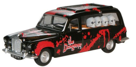 Oxford Diecast Dungeons Hearse - 1:76 Scale