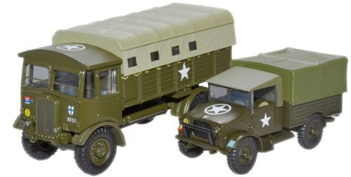Oxford Diecast Military 2 Piece Pack - 1:76 Scale
