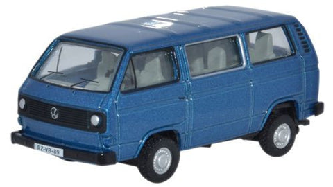 Oxford Diecast Blue VW T25 Bus - 1:76 Scale