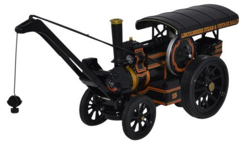Oxford Diecast Fowler Crane Lincs Steam & Vintage Rally - 1:76 Scale