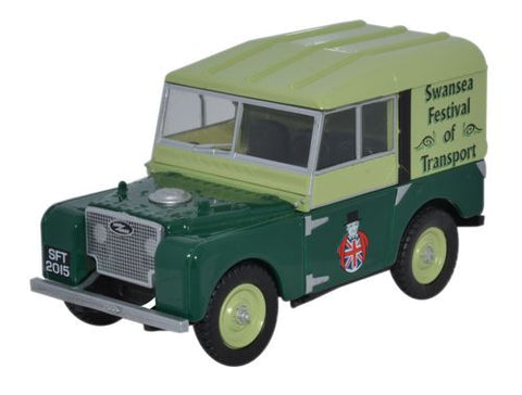 Oxford Diecast Swansea Festival 2015 Land Rover - 1:43 Scale