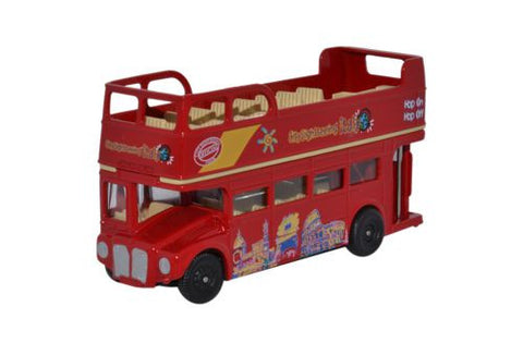 Oxford Diecast Open Top Routemaster City Sighseeing Italy - 1:76 Scale