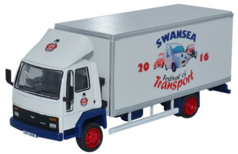 Oxford Diecast Ford Cargo Box Van Swansea Festival Of Transport 2016
