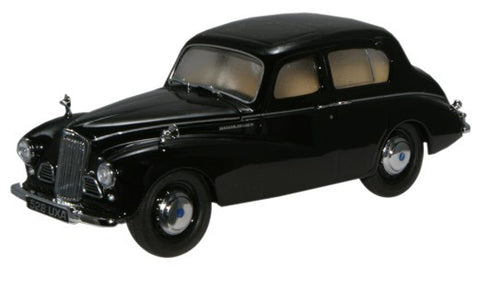 Oxford Diecast Black Sunbeam Talbot 90 MkIIa - 1:43 Scale