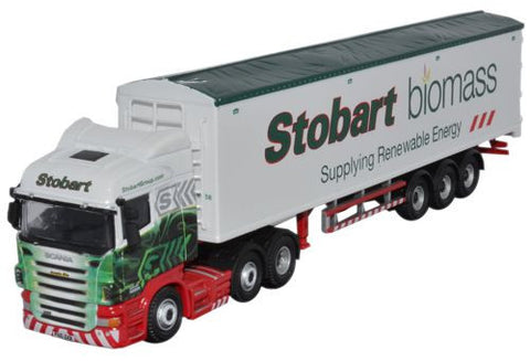 Oxford Diecast Eddie Stobart Scania Walking Floor - 1:76 Scale