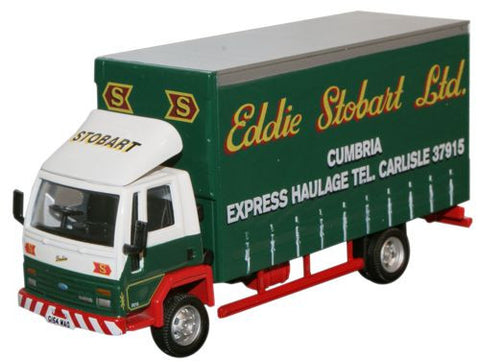 Oxford Diecast Ford Cargo Curtainside Lorry - 1:76 Scale