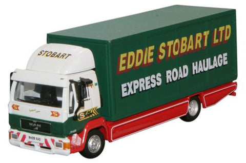 Oxford Diecast MAN L2000 Box Van - 1:76 Scale