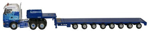 Oxford Diecast Scania Highline Low Loader - 1:76 Scale
