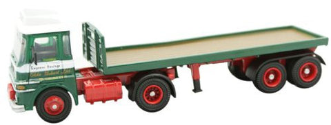 Oxford Diecast ERF LV Flatbed Trailer - 1:76 Scale