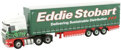Oxford Diecast DAF FTGXF105 Curtainside - 1:76 Scale