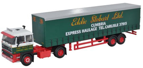 Oxford Diecast DAF 2800 Curtainside - 1:76 Scale