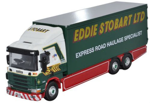 Oxford Diecast Scania 94D 6 Wheel Box Van - 1:76 Scale