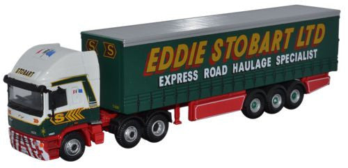 Oxford Diecast ERF EC14 Olympic Curtainside - 1:76 Scale