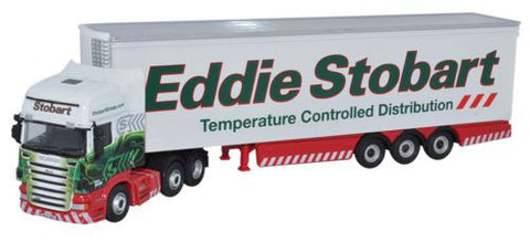 Oxford Diecast Eddie Stobart Scania R420 Topline Fridge - 1:76 Scale